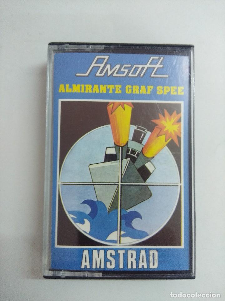 CASETE AMSTRAD/ALMIRANTE GRAF SPEE. (Juguetes - Videojuegos y Consolas - Amstrad)