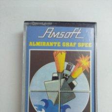 Videojuegos y Consolas: CASETE AMSTRAD/ALMIRANTE GRAF SPEE.. Lote 221672486