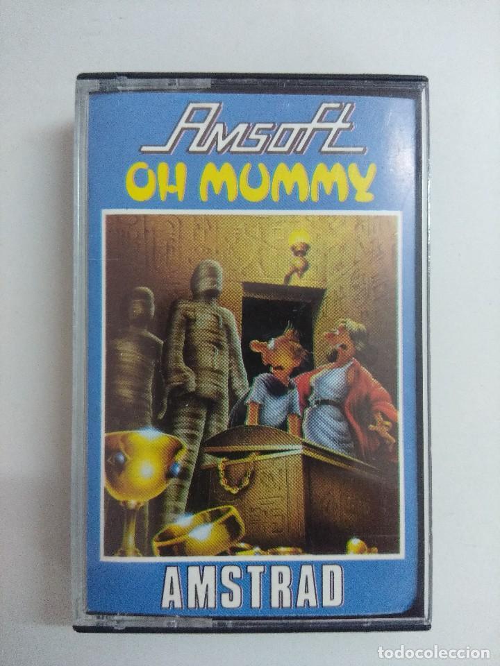 CASETE AMSTRAD/OH MUNMY. (Juguetes - Videojuegos y Consolas - Amstrad)