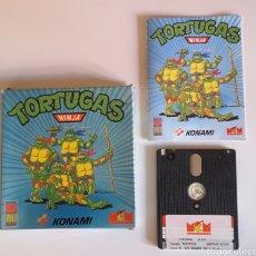 Jeux Vidéo et Consoles: JUEGO AMSTRAD TORTUGAS NINJA. Lote 221762665