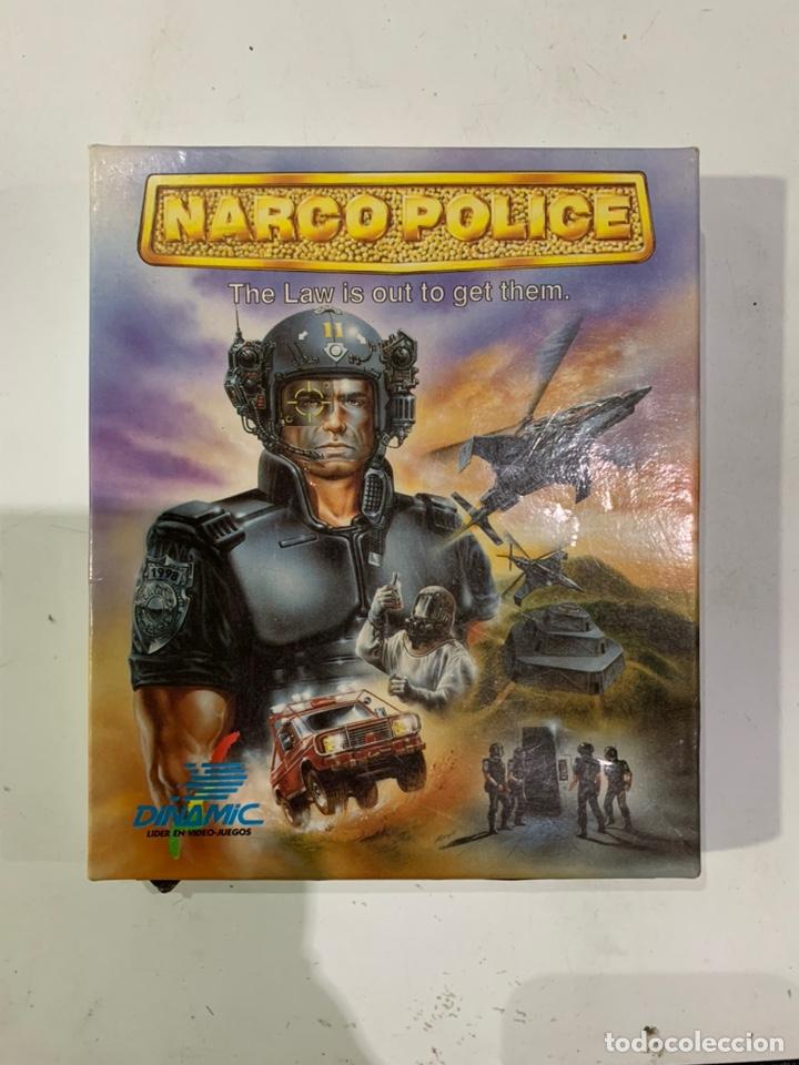 JUEGO DE ORDENADOR AMSTRAD NARCO POLICE (Juguetes - Videojuegos y Consolas - Amstrad)
