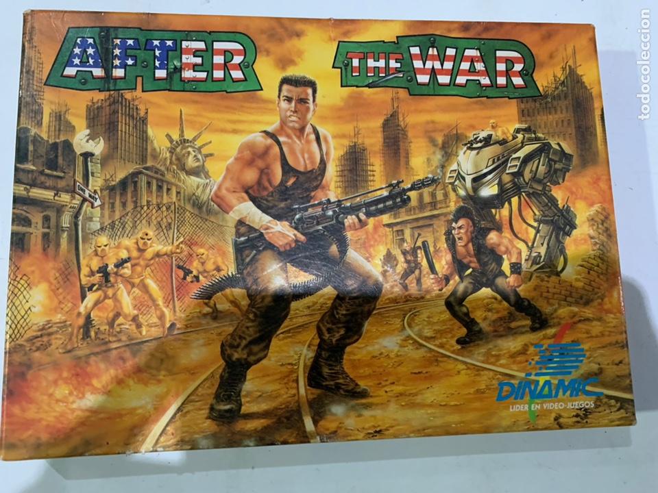 JUEGO DE ORDENADOR AMSTRAD AFTER THE WAR (Juguetes - Videojuegos y Consolas - Amstrad)