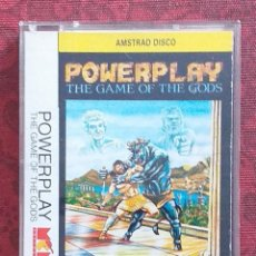 Jeux Vidéo et Consoles: POWERPLAY. THE GAME OF THE GODS. AMSTRAD CPC 6128 DISCO. ORIGINAL. INCLUYE MICHEL & CHOY LEE FUT. Lote 222197260