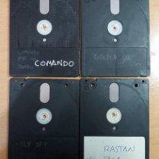 Jeux Vidéo et Consoles: LOTE 4 DISCOS AMSTRAD CPC 6128 DISK. Lote 222313847