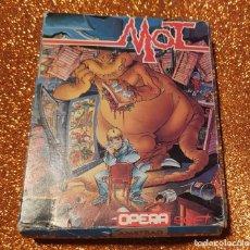 Jeux Vidéo et Consoles: VIDEOJUEGO MOT (AMSTRAD) CAJA CARTÓN. AÑOS 80. AZPIRI. NO SPECTRUM, MSX, COMMODORE. RETRO, VINTAGE. Lote 222396147