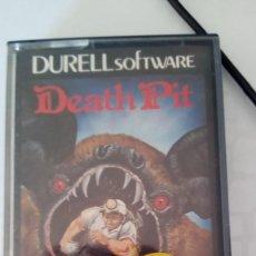 Videojuegos y Consolas: DEATH PIT AMSTRAD. Lote 222692867