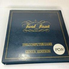 Videojuegos y Consolas: JUEGO TRIVIAL PURSUIT DE AMSTRAD PCW. Lote 223974081