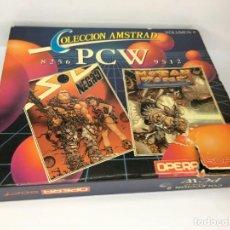 Videojuegos y Consolas: COLECCION AMSTRAD PCW 256-512 VOLUMEN II SOL NEGRO Y MUTAN-ZONE. Lote 223975012