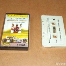 Videojuegos y Consolas: NIGEL MANSELL'S GRAND PRIX PARA AMSTRAD. Lote 224679363