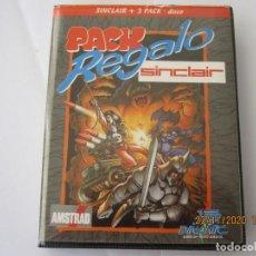 Videojuegos y Consolas: AMSTRAD SINCLAIR + 3 128K DISK PACK REGALO ORIGINAL DINAMIC. Lote 226877625