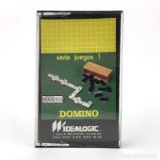 Videojuegos y Consolas: DOMINO IDEALOGIC / DIMENSIONNEW 1985 JUEGO DE MESA CINTA PARA ORDENADOR AMSTRAD CPC 464 664 CASSETTE. Lote 227651470