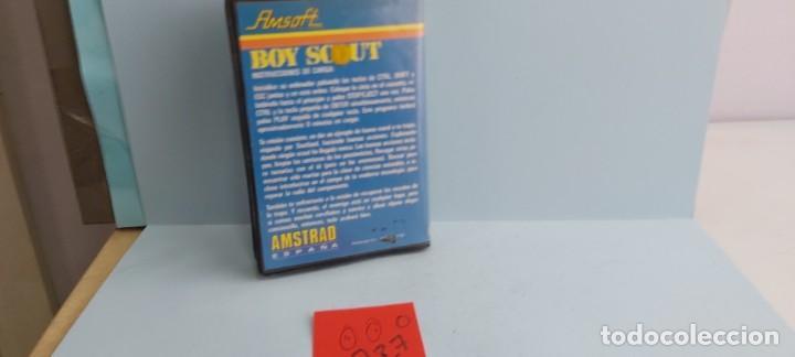 Videojuegos y Consolas: ANTIGUO JUEGO PARA ORDENADOR AMSTRAD BOY SCOUT - Foto 4 - 228093850