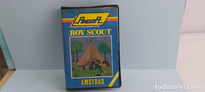 ANTIGUO JUEGO PARA ORDENADOR AMSTRAD BOY SCOUT (Juguetes - Videojuegos y Consolas - Amstrad)