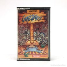 Videojuegos y Consolas: GONZZALEZZ OPERA SOFT 1989 ALFONSO AZPIRI ARCADE PLATAFORMAS MEXICO SIESTA AMSTRAD CPC 464 CASSETTE. Lote 228221705