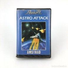 Videojuegos y Consolas: ASTRO ATTACK ESTUCHE AMSOFT INDESCOMP ATTAQUE ASTRALE VIDEO JUEGO RETRO AMSTRAD CPC 464 664 CASSETTE. Lote 228686715