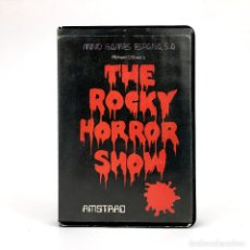 Videojuegos y Consolas: THE ROCKY HORROR PICTURE SHOW ESTUCHE MIND GAMES ESPAÑA CRL GROUP 1986 AMSTRAD CPC 464 664 CASSETTE. Lote 228812135
