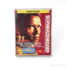 Videojuegos y Consolas: PERSEGUIDO MCM ESPAÑA GRAND SLAM 1989 ARNOLD SCHWARZENEGGER THE RUNNING MAN AMSTRAD CPC 464 CASSETTE. Lote 229004241