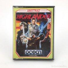 Videojuegos y Consolas: LOS INMORTALES / HIGHLANDER OCEAN SOFTWARE CANVAS 1986 JUEGO RETRO DE LUCHA AMSTRAD CPC 464 CASSETTE. Lote 229012585