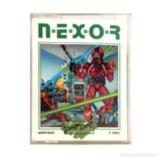 Videojuegos y Consolas: N.E.X.O.R NEMESIS EXPERIMENTAL & OPERATIONAL RESEARCH NEXOR 1986 DISKETTE AMSTRAD CPC 664 6128 DISCO. Lote 229016210
