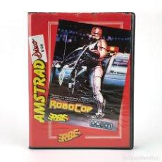 Videojuegos y Consolas: ROBOCOP ESTUCHE ERBE ESPAÑA OCEAN SOFTWARE DATA EAST 1988 ROBOT DISKETTE AMSTRAD CPC 664 6128 DISCO. Lote 229323195