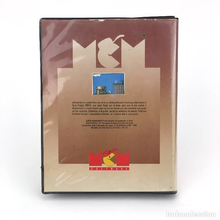 Videojuegos y Consolas: SUPER WONDER BOY IN MONSTERLAND ESTUCHE ERBE ACTIVISION 89 JUEGO DISKETTE AMSTRAD CPC 664 6128 DISCO - Foto 3 - 229331830