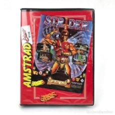 Videojuegos y Consolas: STRIDER ESTUCHE ERBE ESPAÑA U.S GOLD CAPCOM JUEGO DE PLATAFORMAS DISKETTE AMSTRAD CPC 664 6128 DISCO. Lote 229332320