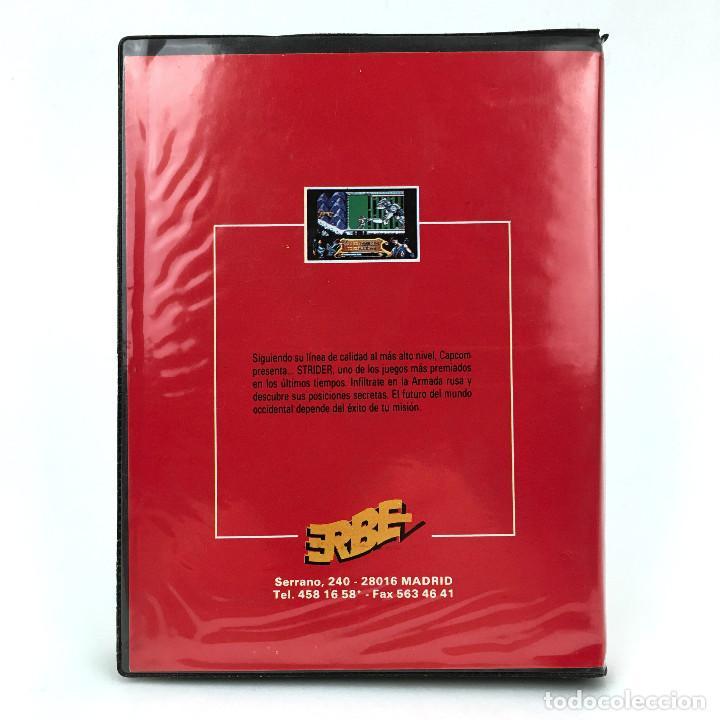 Videojuegos y Consolas: STRIDER ESTUCHE ERBE ESPAÑA U.S GOLD CAPCOM JUEGO DE PLATAFORMAS DISKETTE AMSTRAD CPC 664 6128 DISCO - Foto 3 - 229332320