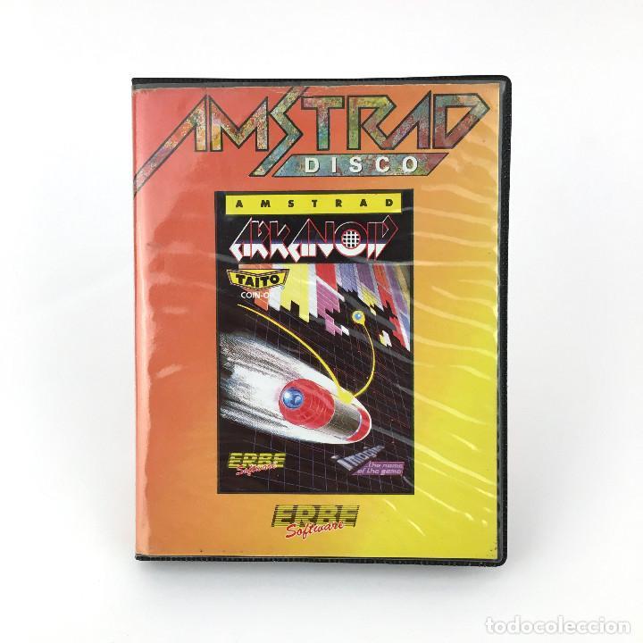 ARKANOID - ESTUCHE ERBE ESPAÑA OCEAN IMAGINE TAITO 1987 RETRO DISKETTE / AMSTRAD CPC 664 6128 DISCO (Juguetes - Videojuegos y Consolas - Amstrad)