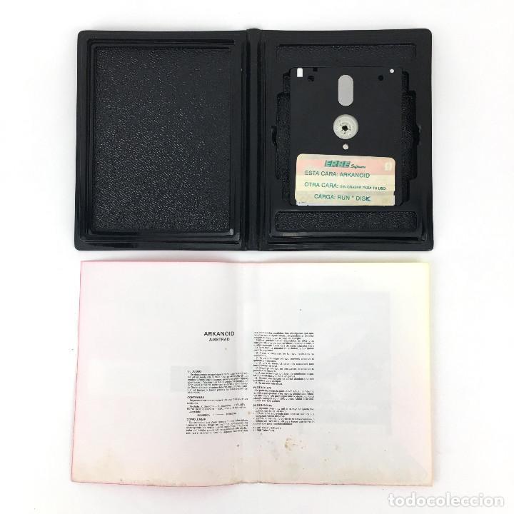 Videojuegos y Consolas: ARKANOID - ESTUCHE ERBE ESPAÑA OCEAN IMAGINE TAITO 1987 RETRO DISKETTE / AMSTRAD CPC 664 6128 DISCO - Foto 2 - 229335525