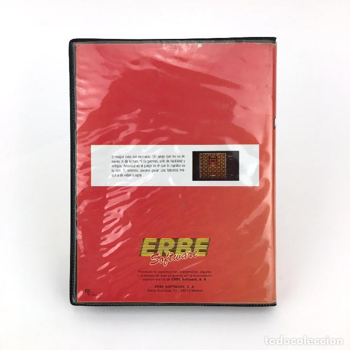 Videojuegos y Consolas: ARKANOID - ESTUCHE ERBE ESPAÑA OCEAN IMAGINE TAITO 1987 RETRO DISKETTE / AMSTRAD CPC 664 6128 DISCO - Foto 3 - 229335525
