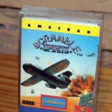 Videojogos e Consolas: AMSTRAD - SCRAMBLE SPIRITS - SEGA - GRANDSLAM - MCM SOFTWARE - 1990. Lote 229688015