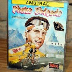 Videojogos e Consolas: AMSTRAD - PERICO DELGADO - TOPO SOFT - ERBE - CAJA GRANDE - 1989. Lote 229705990