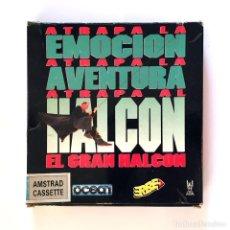 Videojuegos y Consolas: EL GRAN HALCON / ERBE ESPAÑA OCEAN SOFTWARE 1991. JUEGO VINTAGE HUDSON HAWK AMSTRAD CPC 464 CASSETTE. Lote 229913560