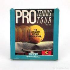 Videojuegos y Consolas: PRO TENNIS TOUR MCM UBI SOFT BLUE BYTE GREAT COURT SIMULADOR TENIS DEPORTE AMSTRAD CPC 464 CASSETTE. Lote 229913950