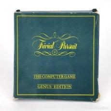 Videojuegos y Consolas: TRIVIAL PURSUIT / EDICION ESPAÑOLA / ERBE ESPAÑA DOMARK 1989 GENUS EDITION AMSTRAD CPC 464 CASSETTE. Lote 229914510