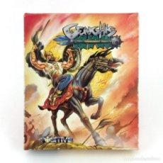 Videojuegos y Consolas: GENGHIS KHAN POSITIVE SOFTWARE ESPAÑA 1991 ARCADE ESTRATEGIA ACCION BATALLA AMSTRAD CPC 464 CASSETTE. Lote 229926480