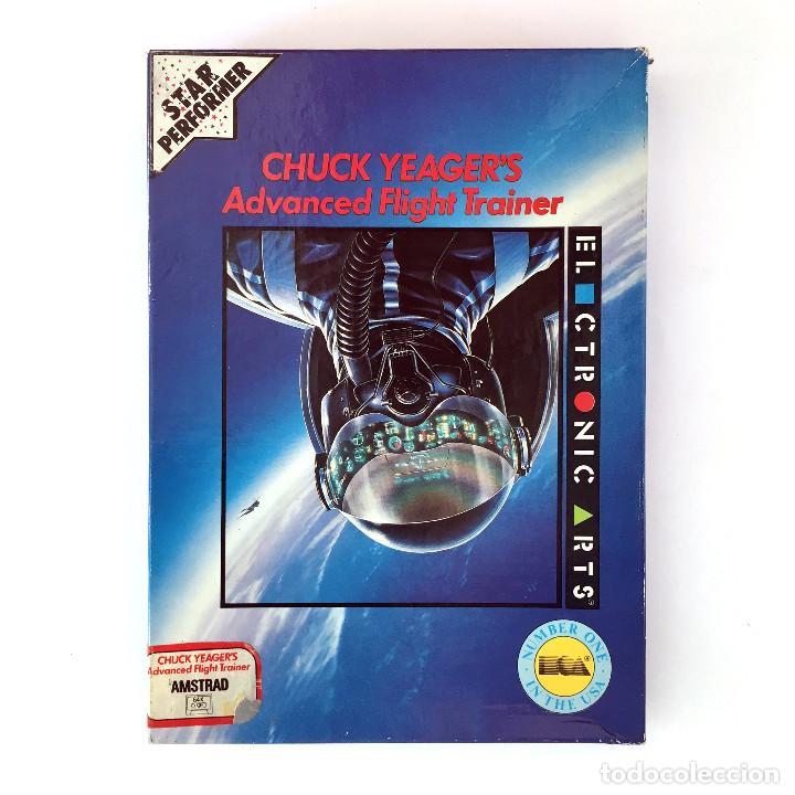CHUCK YEAGER´S ADVANCED FLIGHT TRAINER - ELECTRONIC ARTS SIMULADOR DE VUELO AMSTRAD CPC 464 CASSETTE (Juguetes - Videojuegos y Consolas - Amstrad)