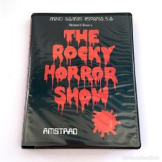 Videojuegos y Consolas: THE ROCKY HORROR PICTURE SHOW ESTUCHE MIND GAMES ESPAÑA FIGURA JANET WEISS AMSTRAD CPC 464 CASSETTE. Lote 229927805