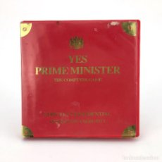 Videojuegos y Consolas: YES PRIME MINISTER / ESTUCHE ODE MOSAIC MASTERTRONIC 1987 RARO JUEGO DE AMSTRAD CPC 464 664 CASSETTE. Lote 229927825