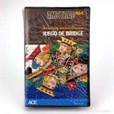 Videojuegos y Consolas: JUEGO DE BRIDGE. ESTUCHE ACE SOFT CP SOFTWARE ACCESA ESPAÑA 1985 STAYMAN PLAYER AMSTRAD CPC CASSETTE. Lote 230151055