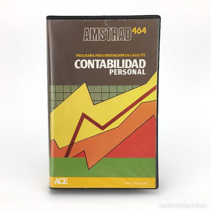 CONTABILIDAD PERSONAL ESTUCHE ACE SOFTWARE ACCESA SOFT ESPAÑA 1985 AMSTRAD CPC 464 664 6128 CASSETTE (Juguetes - Videojuegos y Consolas - Amstrad)