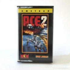 Videojuegos y Consolas: ACE 2 MCM ESPAÑA / ARTRONIC GAME BUSTERS 1988 JUEGO CINTA ORDENADOR AMSTRAD CPC 464 472 664 CASSETTE. Lote 230283890