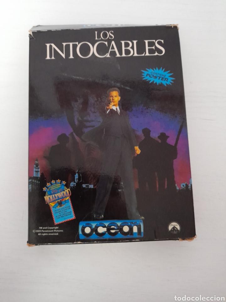 LOS INTOCABLES AMSTRAD DISCO (Juguetes - Videojuegos y Consolas - Amstrad)