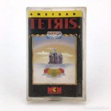 Videojuegos y Consolas: TETRIS MCM ESPAÑA MIRRORSOFT 1989 ANDROMEDA SOFTWARE JUEGO RETRO DE AMSTRAD CPC 464 472 664 CASSETTE. Lote 230294355