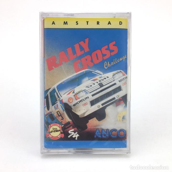 RALLY CROSS CHALLENGE PRECINTADO SYSTEM 4 ESPAÑA ANCO SOFTWARE SLY 1989 AMSTRAD CPC 464 664 CASSETTE (Juguetes - Videojuegos y Consolas - Amstrad)