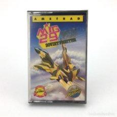 Videojuegos y Consolas: MIG 29 SOVIET FIGHTER PRECINTADO ERBE CODEMASTERS SOFTWARE 1989 SLY AMSTRAD CPC 464 472 664 CASSETTE. Lote 230295265