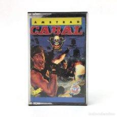 Videojuegos y Consolas: CABAL COMPLETO ERBE ESPAÑA / OCEAN 1989 カベール KABĒRU COMMANDO TIRO AL BLANCO AMSTRAD CPC 464 CASSETTE. Lote 230295840