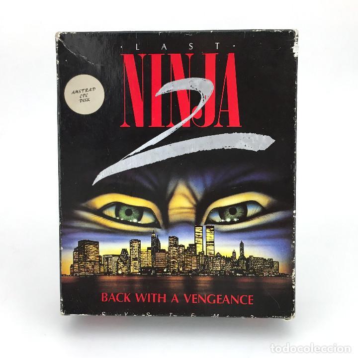 LAST NINJA 2 BACK WITH A VENGEANCE EDICION ESPAÑOLA SYSTEM 3 88´ DISKETTE AMSTRAD CPC 664 6128 DISCO (Juguetes - Videojuegos y Consolas - Amstrad)
