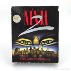 Videojuegos y Consolas: LAST NINJA 2 BACK WITH A VENGEANCE EDICION ESPAÑOLA SYSTEM 3 88´ DISKETTE AMSTRAD CPC 664 6128 DISCO. Lote 230645985