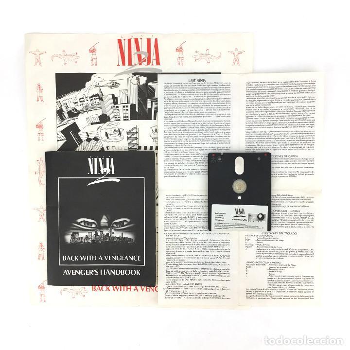 Videojuegos y Consolas: LAST NINJA 2 BACK WITH A VENGEANCE EDICION ESPAÑOLA SYSTEM 3 88´ DISKETTE AMSTRAD CPC 664 6128 DISCO - Foto 2 - 230645985